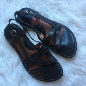 Born hand crafted footwear sandals size 8B